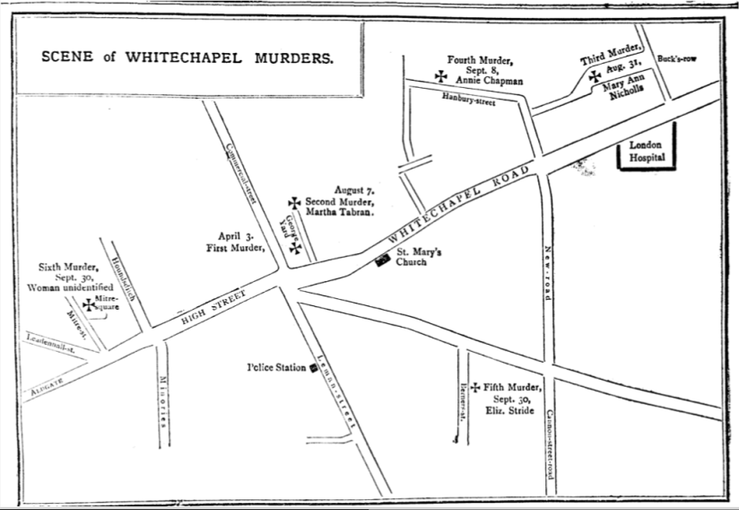 Jack the Ripper and British Attitudes to Sex and Murder: Whitechapel and the importance of Location